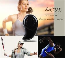 Smallest & Coolest! Mini Stereo Bluetooth Earplug Headphone Smart Earphone Black