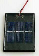 NEW Solar Made Solar Mini Panel: 4-1.5-200 1.5Volt/200mA Solar Made