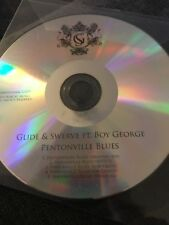 Glide & Swerve Ft Boy George - Pentonville Blues - Uk 5 Remix Cd Promo
