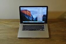 "MacBook Pro A1286 Pre Retina - 15"" - i5 2.53 - 4GB RAM / 500GB HD Fair Condition"