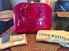 Louis Vuitton Vernis Alma PM Hot Pink!!!