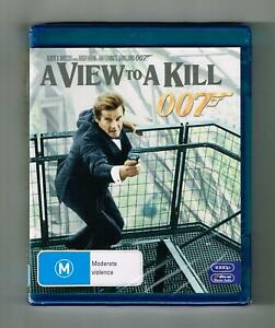 A View To A Kill Blu-ray Roger Moore - Brand New & Sealed