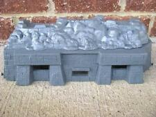 MPC WWII Fortification Bunker D-Day 1/32 54MM Toy Soldier Playset German