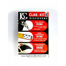 BG Clarinet Discovery Kit (Pad Dryer, Reed Savers, Mouthpiece Cushions)