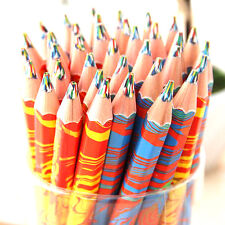 20pcs/Lot Rainbow Color Pencil Colored Stationery Drawing Painting Gift Pencils