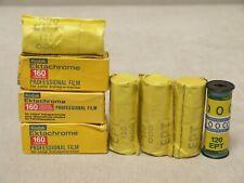 Kodak Ektachrome 160 color reversal film, 8 pcs, 120 slide, expired, lomography