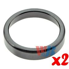 2xRear Wheel Bearing Race Tapered Roller Bearing Cup WT33462 Cross 33462 BR33462