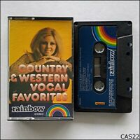 Country & Western Vocal Favorites Tape Cassette (C22)