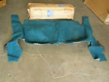 NOS OEM Ford 1963 1964 Galaxie Station Wagon Rear Carpet Aqua Interior