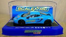 Scalextric c3327 McLaren mp4-12c Scalextric Club 2012 ltd ed. 3945 of 6500 New