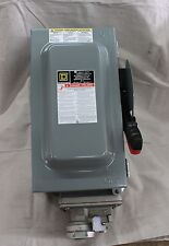 HU361WC SAFETY SWITCH WITH RECEPTICALE SQUARE D