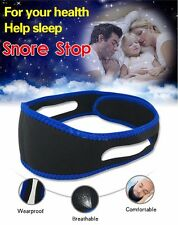 Snore Stop Belt Anti Snoring Cpap Chin Strap Sleep Apnea Jaw Solution TMJ Health