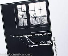 """SAM HASKINS """"WINDOW"""" 1972 ORIGINAL OFFSET LITHOGRAPH EX RARE"""