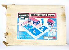 New listing BRITAINS -EQUESTRIAN MODEL RIDING SCHOOL 4714- VINTAGE HORSE FARM TOY SET, BOXED