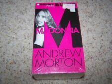 MADONNA Andrew Morton AUDIO CASSETTE BOOK Unabridged 7 Cassettes NEW & SEALED