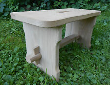 Oak Wood Wooden Footstool Step Stool Guitar Rest Stool