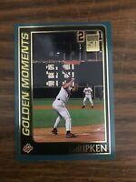 2001 Topps  #384  Cal Ripken Jr Baltimore Orioles Golden Moments NrMt