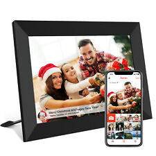 Smart WiFi Digital Photo Frame Share Picture/Video Instantly via Frameo App 16GB