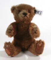 "Vintage 1983 Steiff Margaret Strong Brown Mohair 7"" ( 18cm) Teddy Bear #0160/18"