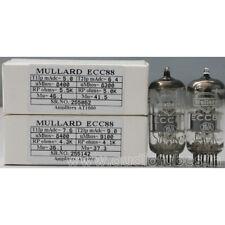 1MP ECC88 6DJ8  Mullard made in Great Britain Amplitrex tested#255062&142