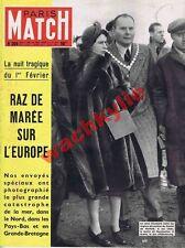 Paris Match n°204 07/02/1953 Raz de marée Inondations Fernadel Don Camillo Piem