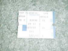 1982 Los Angeles Kings v Edmonton Oilers Hockey Ticket 3/10 Wayne Gretzky