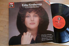 EDITA GRUBEROVA french & italian arias LP EMI digital gatefold 067-43136 nm-mint