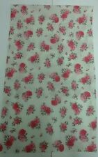 Tischläufer Weiß Rosa Rosen 50x140cm Shabby Chic Weiß