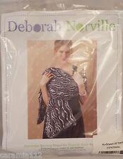 Deborah Norville Swirling Shawl Knitting Kit Soft Off White Complete Sealed