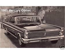 1965 Mercury Comet  Auto  Refrigerator / Tool Box Magnet Gift Card Insert