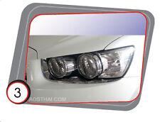 CHROME HEADLIGHT LAMP COVER FOR CHEVROLET SONIC 5 DOOR HATCHBACK 2013