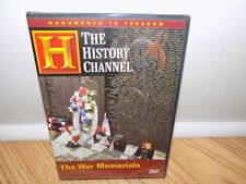 Great American Monuments - The War Memorials (DVD, 2005) History Channel - NEW!