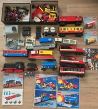 LEGO Eisenbahn 12V 9V Sammlung 7750 7745 7815 7820 4563 7865 Train Konvolut BA
