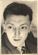 Grande photo portrait homme vers 1940