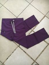 Wonderwink Scrub Pants Bottom Eggplant / Purple Size XS TALL Style# 500T