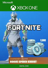 Fortnite Legendary Rogue Spider Knight Bundle + 2000 V-Bucks - Xbox One
