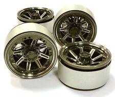 C26613GUN Integy 1.9 Size Billet Alloy 8 Spoke Wheel(4)High Mass for Crawler
