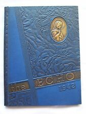 1942 SAINT FRANCIS HIGH SCHOOL YEARBOOK LAFAYETTE, INDIANA  THE ECHO