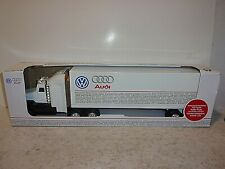VW Volkswagen Audi Trailer Truck - 1:25 Scale - Authorized Limited Edition - NEW