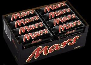 Mars Classic Single Chocolate Bar - Box Of 32 x 51g - Best Before 18/04/21