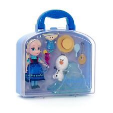 Orig.  Disney Elsa Animators Collection mini Puppe Prinzessin Eiskönigin Frozen