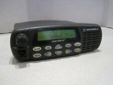 Motorola Cdm1550 Ls Uhf 450 512 Mhz 160 Ch 45w Mobile Radio Aam25skf9dp6an