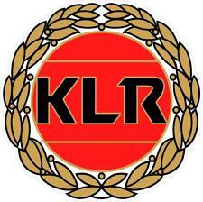 """#120 (1) 3.5"""" Kawasaki KLR 650 KLR 250 KLR650 KLR250 Decal Sticker Wreath Gold"""
