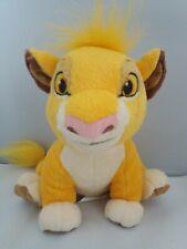 "Disney Store Lion King Simba Cub Soft Toy Plush 12"""