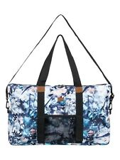 ROXY WOMENS SPORTS BAG.COLOR YOUR MIND HOLDALL DUFFLE GYM WEEKEND TOTE 8W 53 BGZ