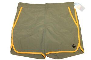 Bogner Wave Men's Bathing Trunks Shorts Green Yellow Size 54 XL New Label