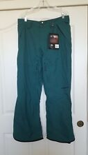 Homeschool Fury Ski Snow Pants Green Large NWT Z33