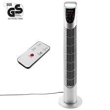 Arebos Turmventilator 40 W mit Fernbedienung - Silber