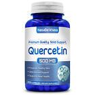 New Premium Quality NasaBeAhava Quercetin 500mg 200 Capsules Immune Support USA