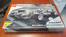 LEGO TECHNIC 8458 RACERS SILVER CHAMPION 1/8 100% complet + boite + notices TOP!